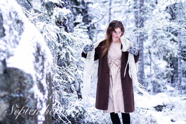 Klänningen Helfrid av Malin Bohm www.malinbohm.se/blogg foto http://www.septemberbacken.se/