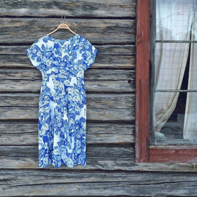 Klänning sydd av Malin Bohm www.malinbohm.se/blogg