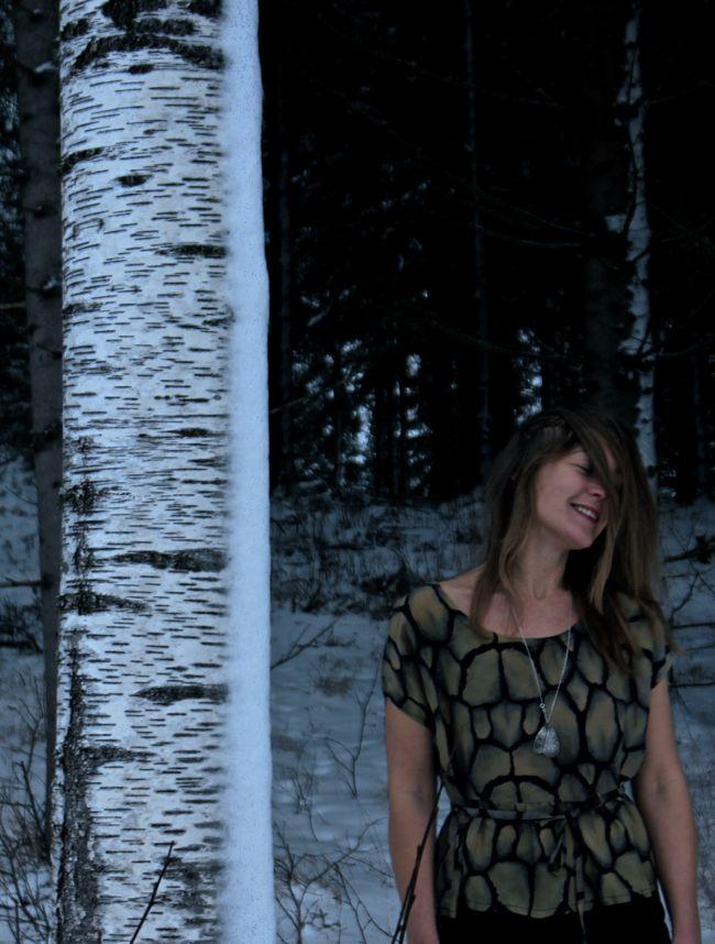 Foto Stilsamt Eva Jonsson blus av Malin Bohm