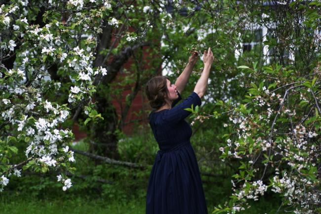 Dress made by Malin Bohm www.malinbohm.se