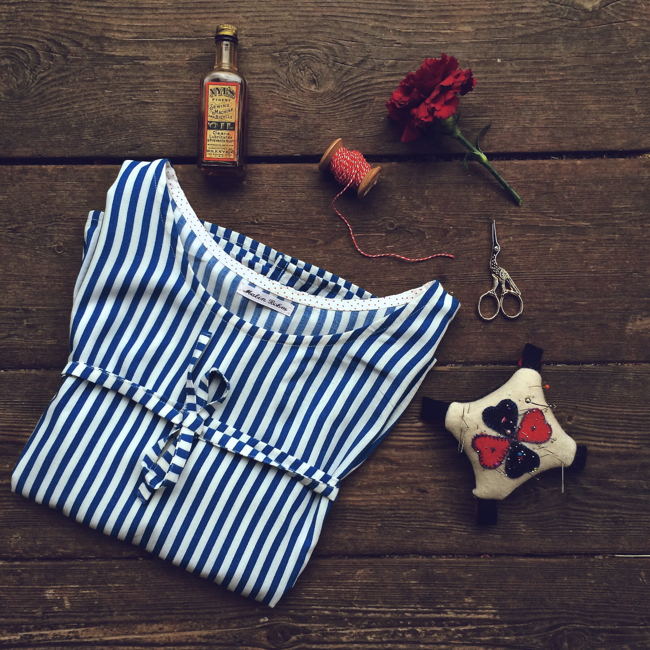 Helfrid blouse made by Malin Bohm www.malinbohm.se
