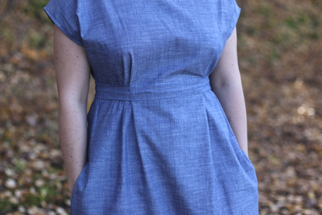 Helfrid dress in organic cotton www.malinbohm.se
