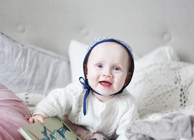 http://www.emmasvintage.se bonnet by Malin Bohm www.malinbohm.se